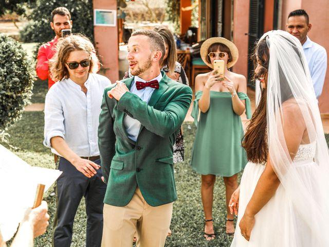 La boda de Dennys y Amanda en Lluchmajor, Islas Baleares 13