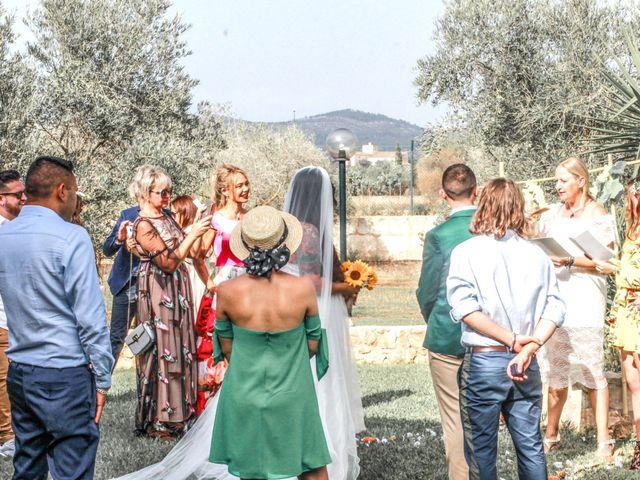 La boda de Dennys y Amanda en Lluchmajor, Islas Baleares 21