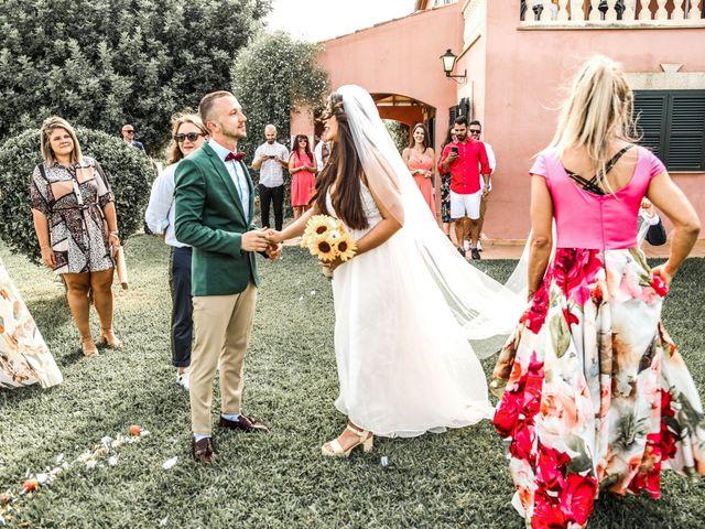 La boda de Dennys y Amanda en Lluchmajor, Islas Baleares 24