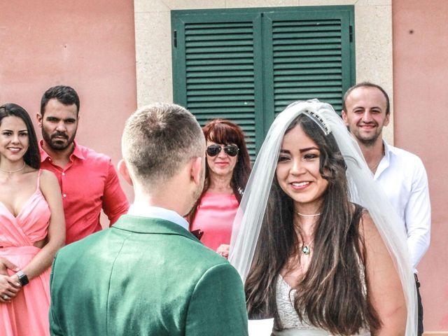 La boda de Dennys y Amanda en Lluchmajor, Islas Baleares 27