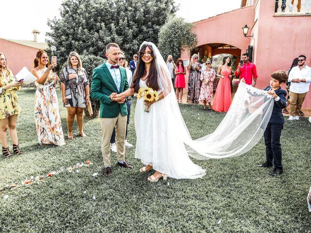 La boda de Dennys y Amanda en Lluchmajor, Islas Baleares 31