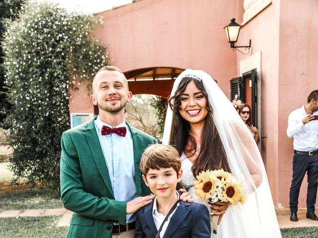 La boda de Dennys y Amanda en Lluchmajor, Islas Baleares 32
