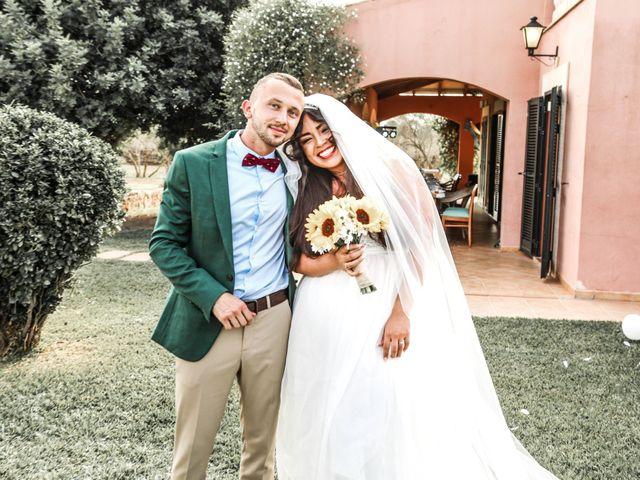 La boda de Dennys y Amanda en Lluchmajor, Islas Baleares 33
