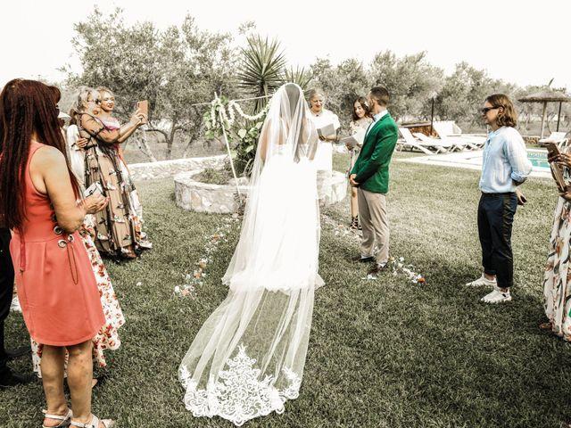 La boda de Dennys y Amanda en Lluchmajor, Islas Baleares 34