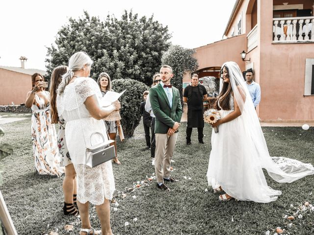La boda de Dennys y Amanda en Lluchmajor, Islas Baleares 35