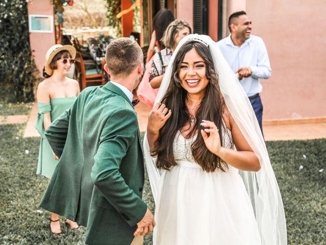 La boda de Dennys y Amanda en Lluchmajor, Islas Baleares 38