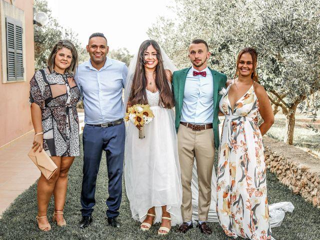 La boda de Dennys y Amanda en Lluchmajor, Islas Baleares 39