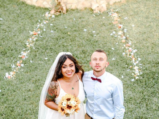 La boda de Dennys y Amanda en Lluchmajor, Islas Baleares 42
