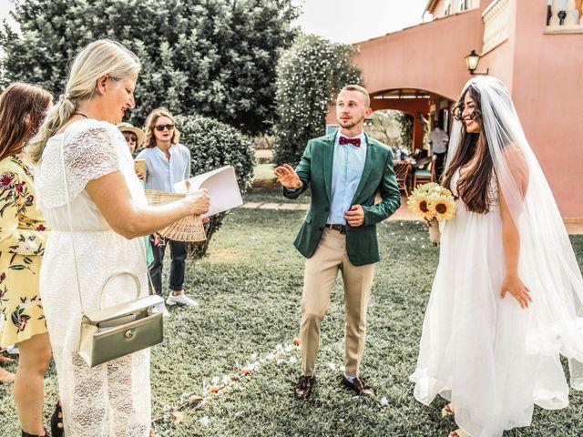 La boda de Dennys y Amanda en Lluchmajor, Islas Baleares 45