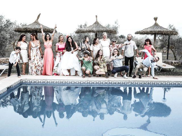La boda de Dennys y Amanda en Lluchmajor, Islas Baleares 68