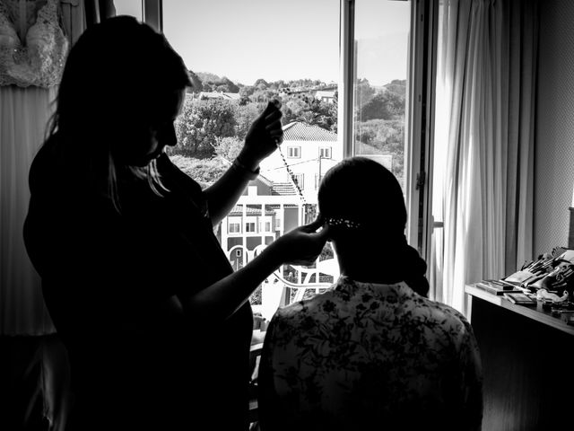 La boda de Javi y Fanny en Bueu (Resto Parroquia), Pontevedra 2