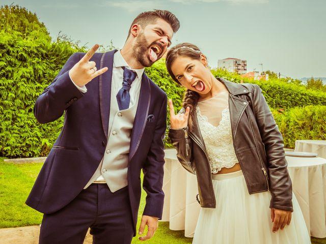 La boda de Javi y Fanny en Bueu (Resto Parroquia), Pontevedra 19