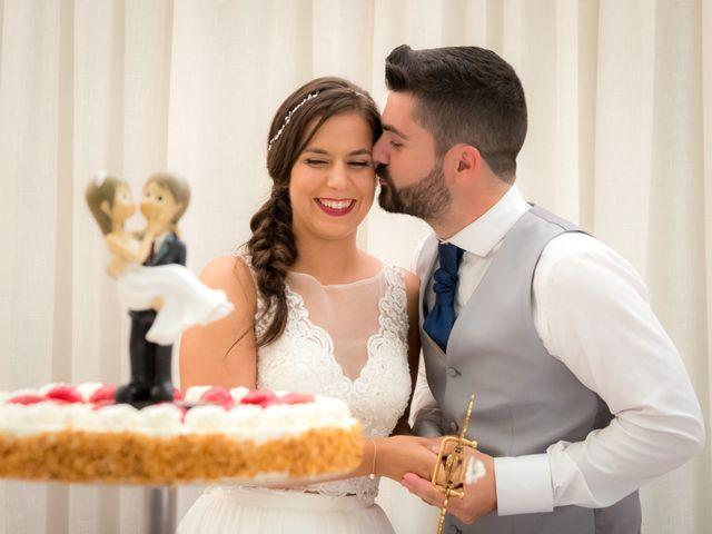La boda de Javi y Fanny en Bueu (Resto Parroquia), Pontevedra 21