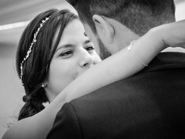 La boda de Javi y Fanny en Bueu (Resto Parroquia), Pontevedra 24