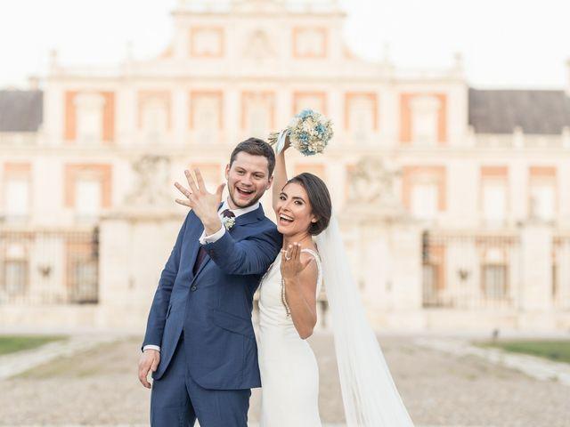 La boda de Seb y Gabriela en Aranjuez, Madrid 2