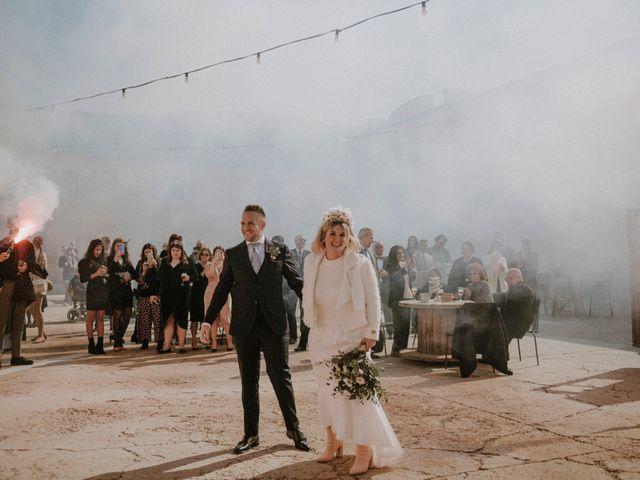La boda de Mario y Esther en Otero De Herreros, Segovia 110