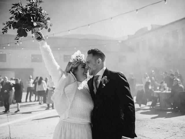 La boda de Mario y Esther en Otero De Herreros, Segovia 115