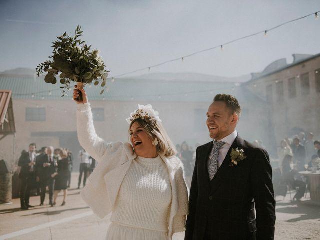 La boda de Mario y Esther en Otero De Herreros, Segovia 1