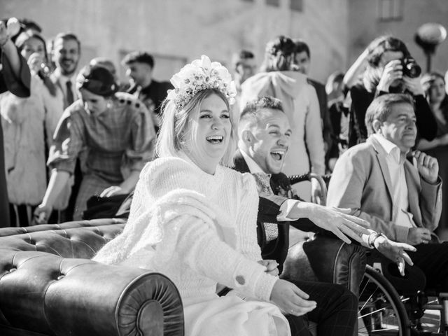 La boda de Mario y Esther en Otero De Herreros, Segovia 157