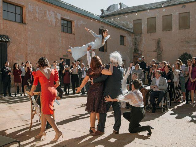 La boda de Mario y Esther en Otero De Herreros, Segovia 163