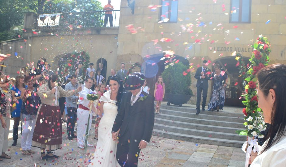 La boda de Alazne y Igor en Lezo, Guipúzcoa