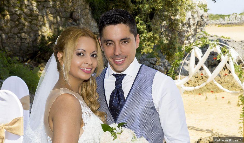 La boda de Javier y Clebia en Isla, Cantabria