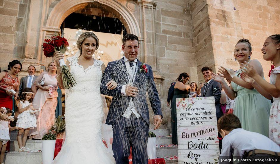 La boda de Óscar y María del Mar en Mengibar, Jaén