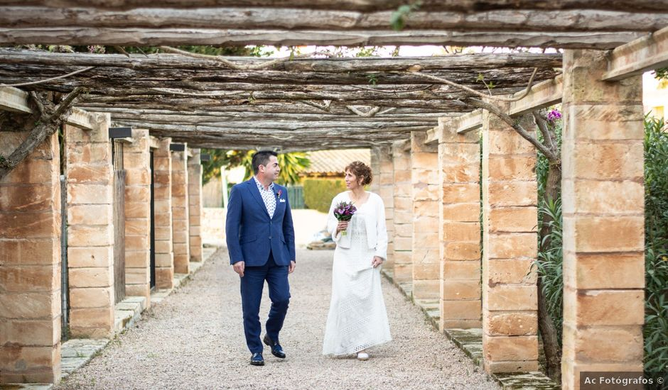 La boda de Carlos y Mayca en Porto Cristo Novo, Islas Baleares