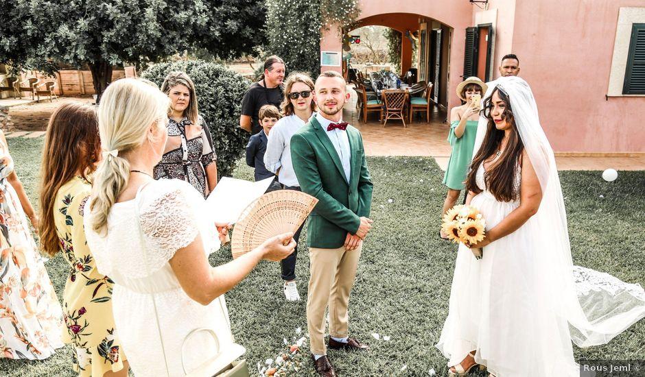 La boda de Dennys y Amanda en Lluchmajor, Islas Baleares