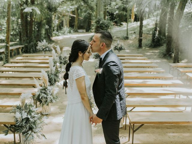 La boda de Miriam y Axel