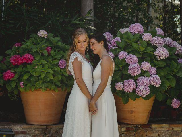 La boda de Alba y Anna en Blanes, Girona 75