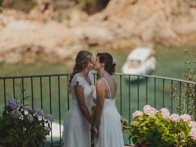 La boda de Alba y Anna en Blanes, Girona 1