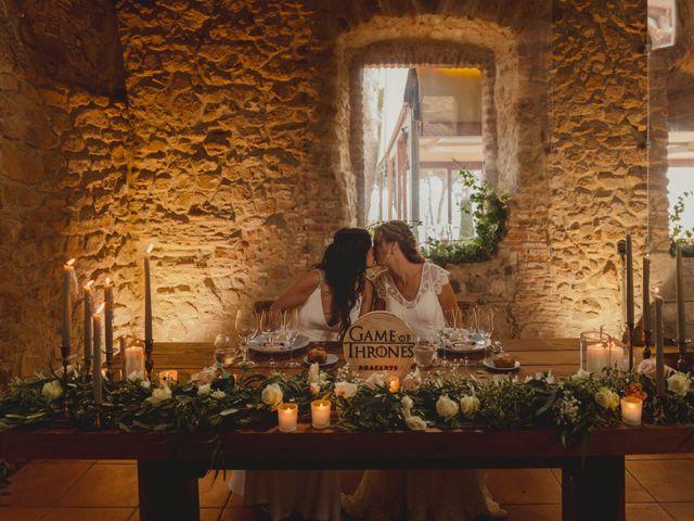 La boda de Alba y Anna en Blanes, Girona 100
