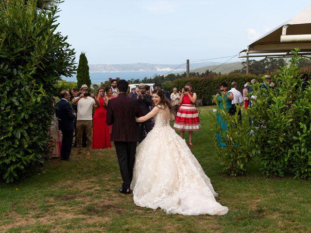La boda de Aarón y Virginia en Laxe, A Coruña 76