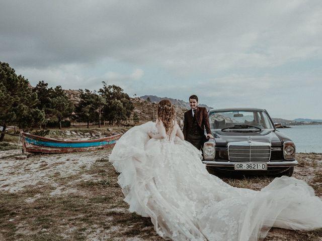 La boda de Aarón y Virginia en Laxe, A Coruña 110