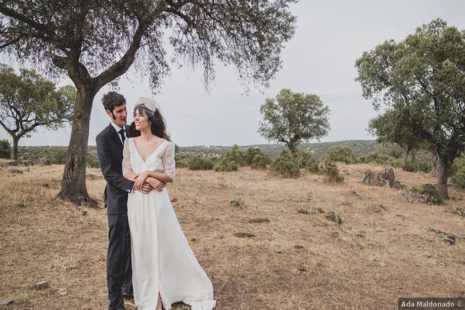 La boda de Alberto y Sandra en Trujillo, Cáceres