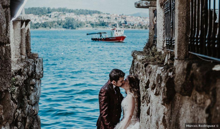 La boda de Aarón y Virginia en Laxe, A Coruña