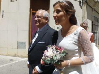 La boda de Eva Mendoza y Alfonso Casas 1