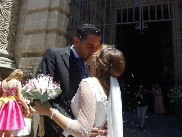 La boda de Eva Mendoza y Alfonso Casas