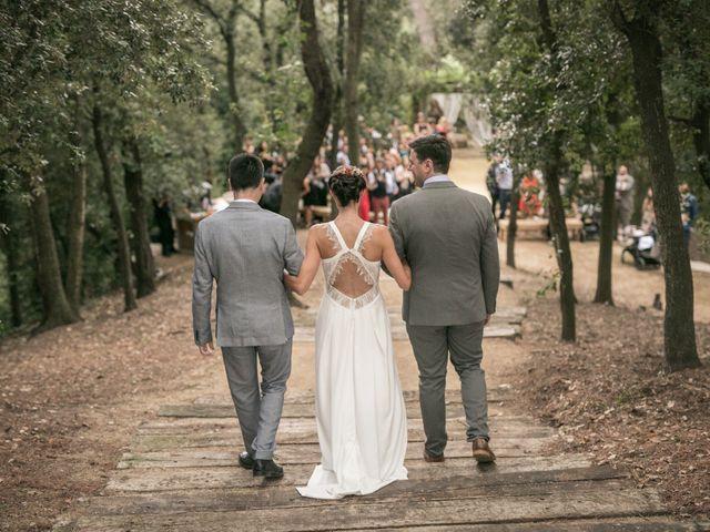 La boda de David y Lola en Caldes De Montbui, Barcelona 1