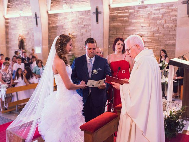 La boda de Hugo y Mari Carmen en Alcover, Tarragona 27