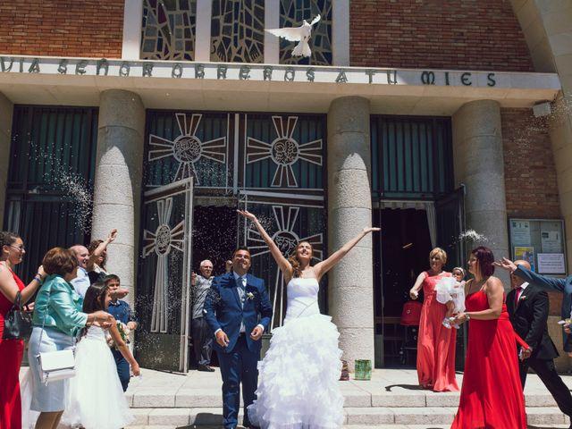 La boda de Hugo y Mari Carmen en Alcover, Tarragona 40