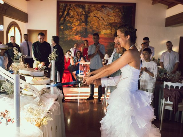 La boda de Hugo y Mari Carmen en Alcover, Tarragona 91