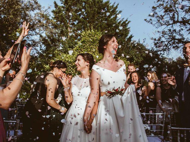 La boda de Inma y Raquel