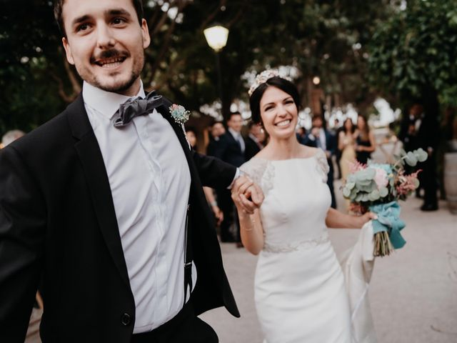 La boda de David y Alba en Valencia, Valencia 45