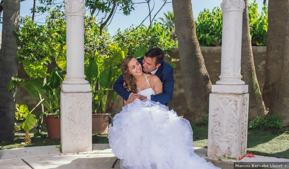 La boda de Hugo y Mari Carmen en Alcover, Tarragona