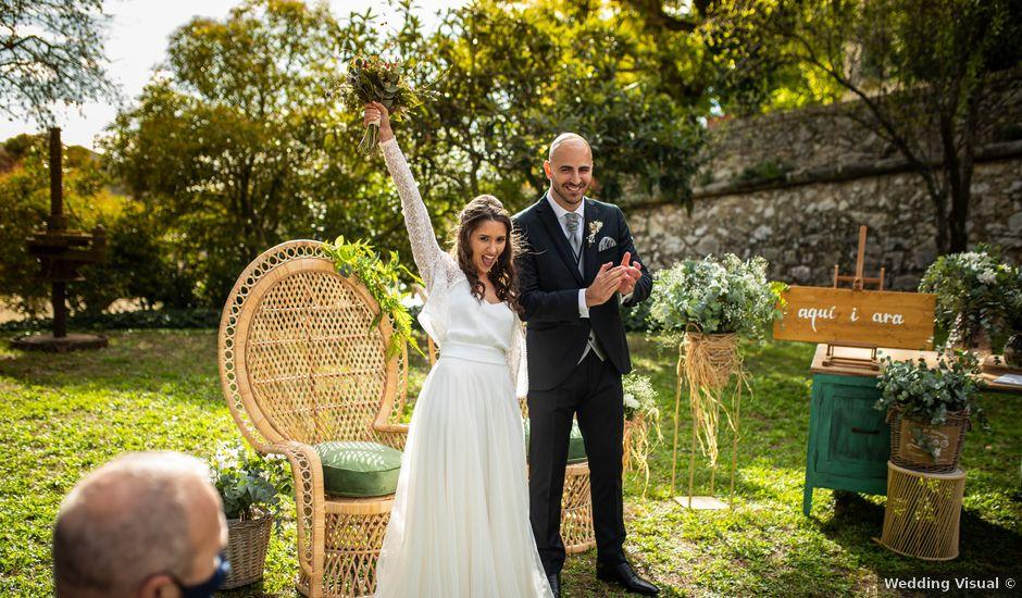 La boda de Bea y Salva en Ordal, Barcelona