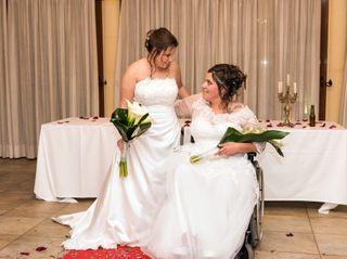 La boda de Nerea y Loli