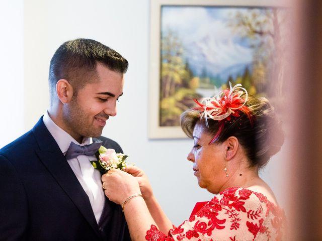 La boda de Borja y Mirian en O Carballiño, Orense 7