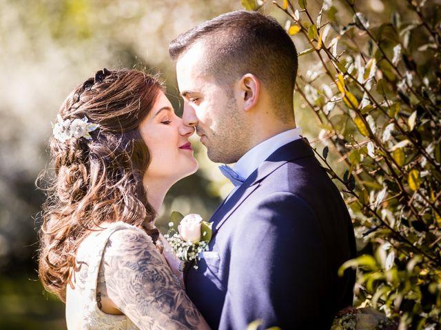 La boda de Borja y Mirian en O Carballiño, Orense 3